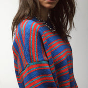 The Sofia Stripe Jumper - Jumper - Route13