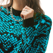 The Snake Skin Jumper - Jumper - Route13
