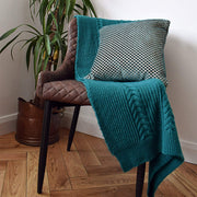 Chunky Knitted Cable Blanket - Blanket - Route13