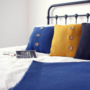 Textured Knitted Blanket - Blanket - Route13