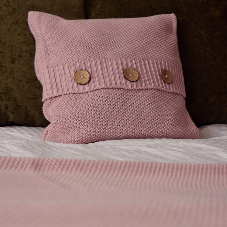 Textured Knitted Cushion - cushion - Route13