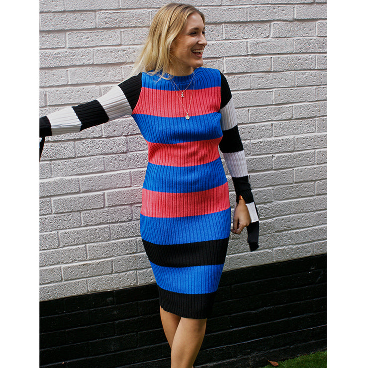 The Tilly Tie Dress - knitted dress - Route13