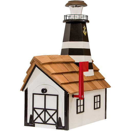 Bodie Island Solar Lighthouse Amish Mailbox