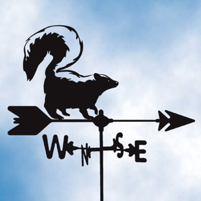 Skunk Silhouette Steel Weathervane