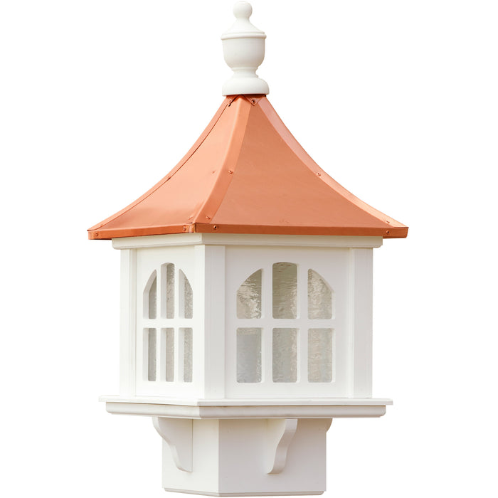 Vinyl Copper Roof Cupola Lantern