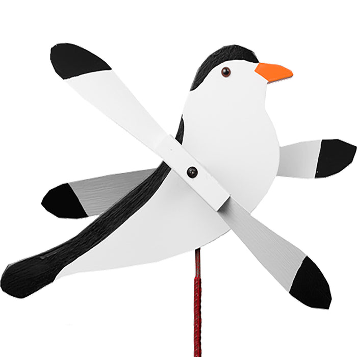 Chickadee Whirlybird Wind Spinner