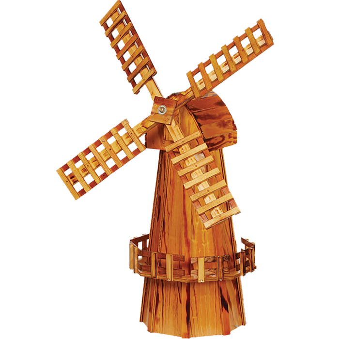 Amish Medium Decorative Wooden Windmill