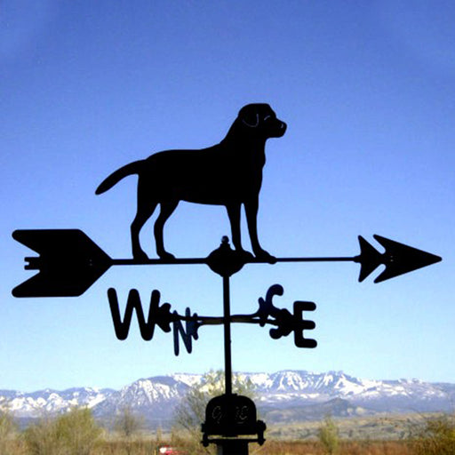 Lab Silhouette Steel Weathervane