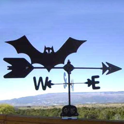 Bat Silhouette Steel Weathervane