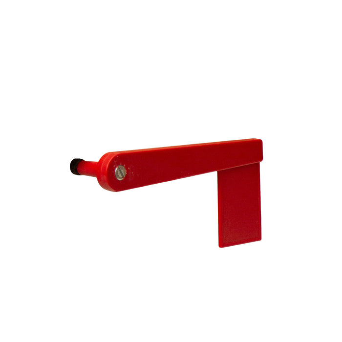 7ʺ Replacement Red Flag for Wooden Mailbox