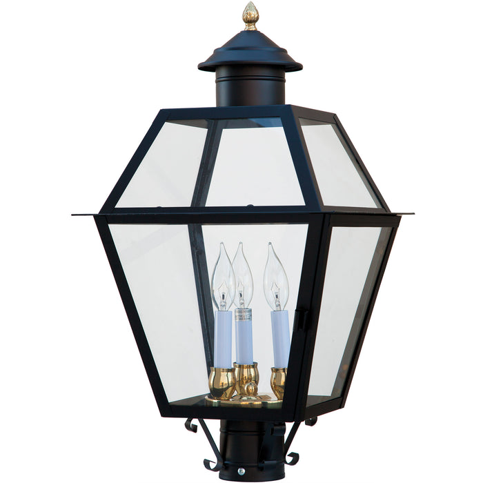 Lexington Glass Black Lantern