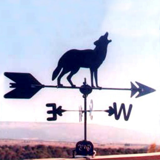 Moose Silhouette Steel Weathervane
