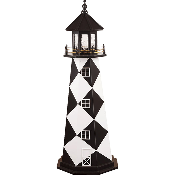 Cape Lookout Replica Wooden Lighthouse