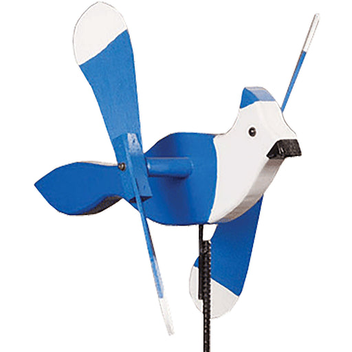 Blue Jay Whirlybird Wind Spinner