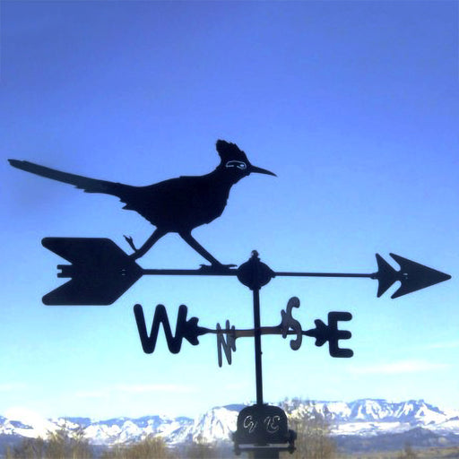 Road Runner Silhouette Steel Weathervane
