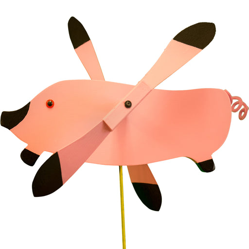 Flying Pig Whirlybird Wind Spinner