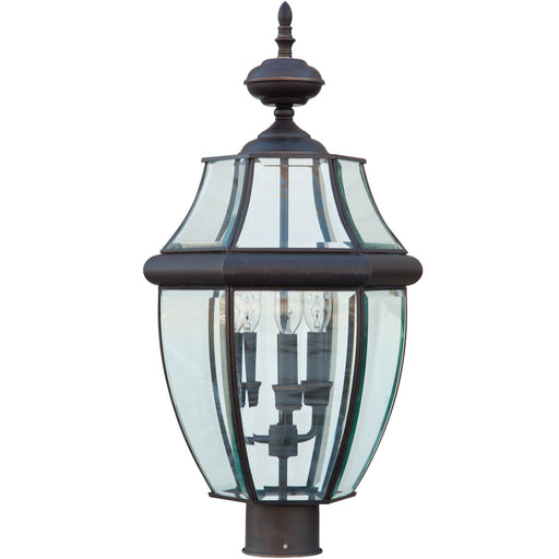 Lancaster Glass & Bronze Lantern