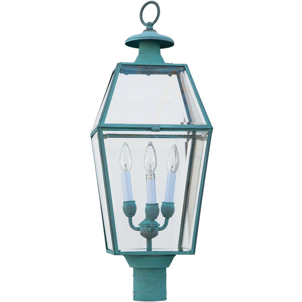 Olde Colony Patina Finish Lantern
