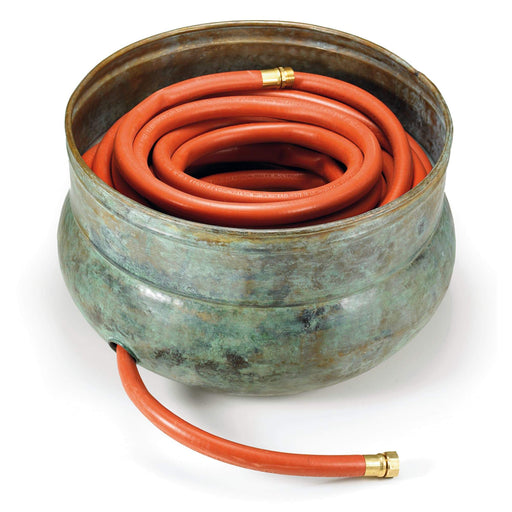 Brass Patina Sonoma Hose Pot