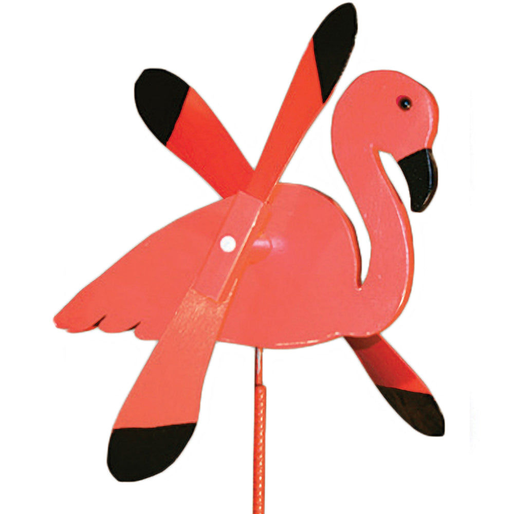 Flamingo Whirlybird Wind Spinner