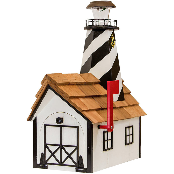 Cape Hatteras Solar Lighthouse Amish Mailbox