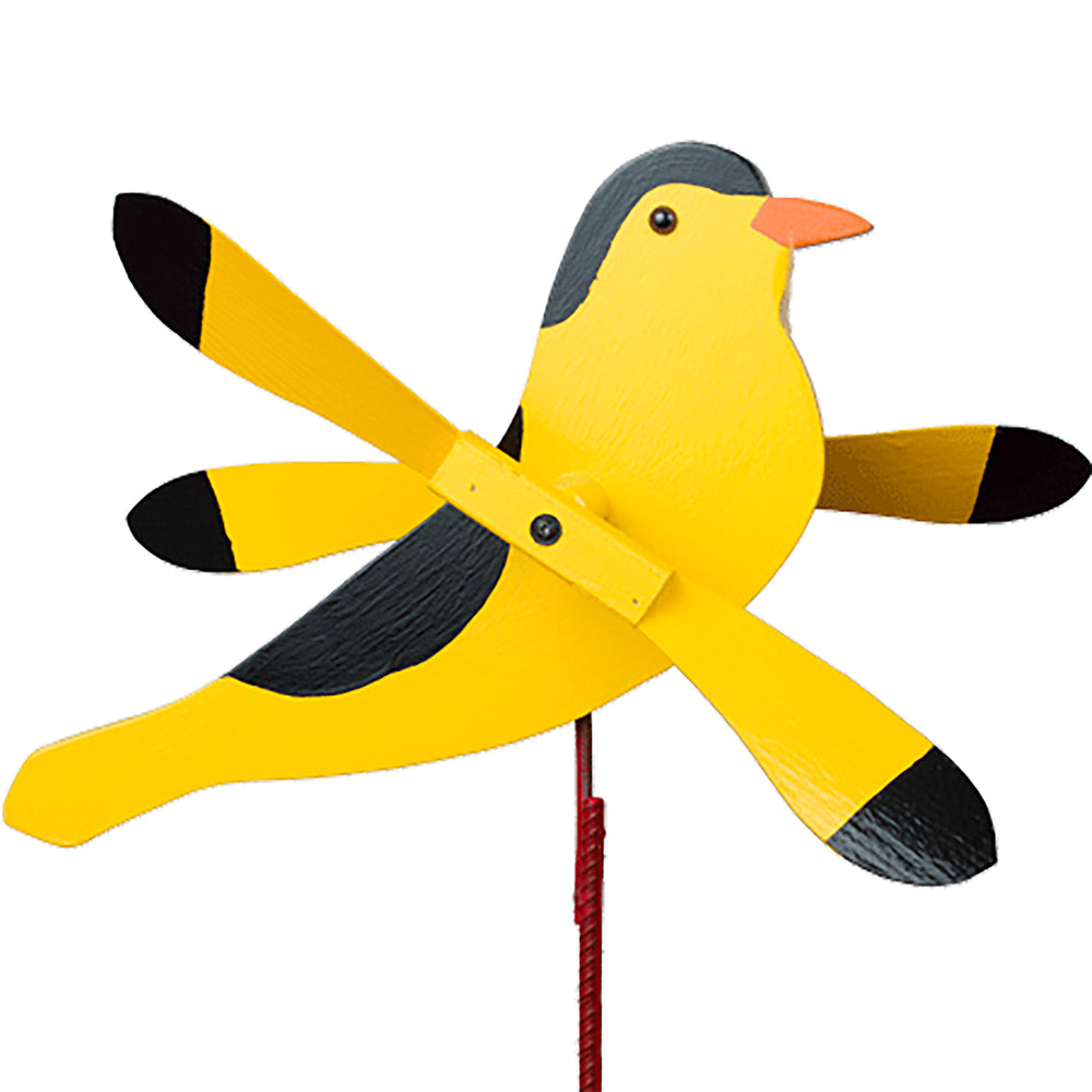 Goldfinch Whirlybird Wind Spinner