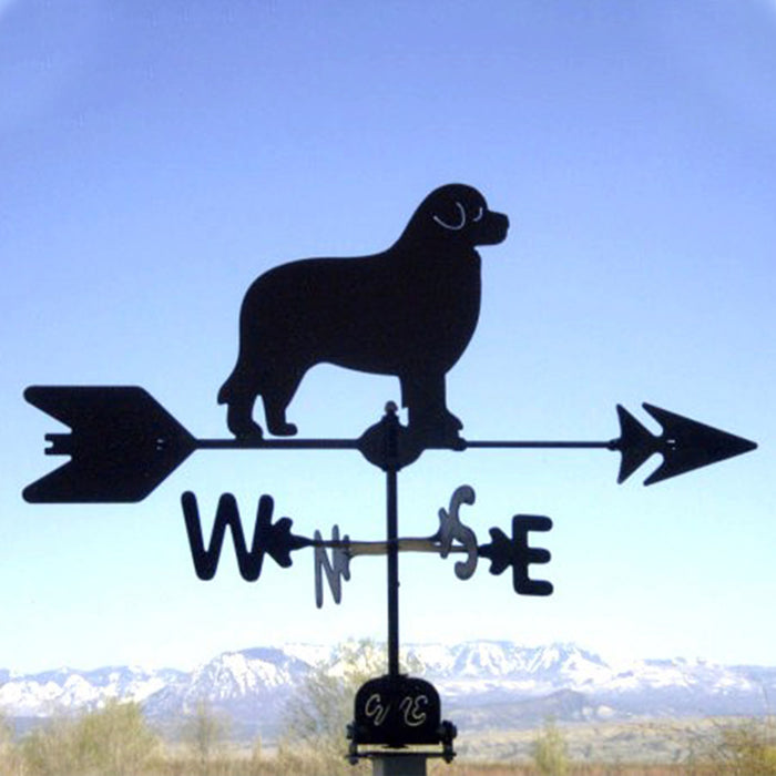 Foundland Silhouette Steel Weathervane