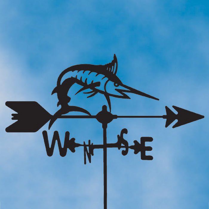 Marlin Silhouette Steel Weathervane