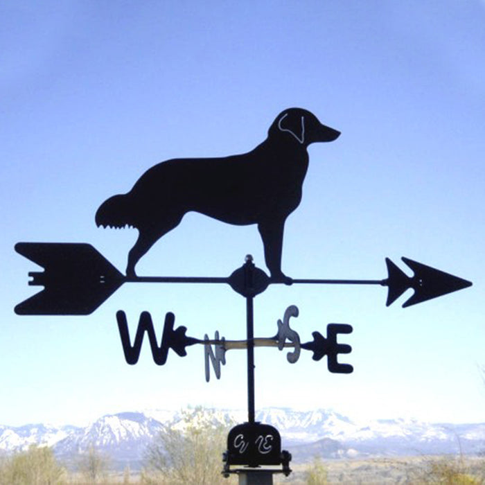 Retriever Silhouette Steel Weathervane