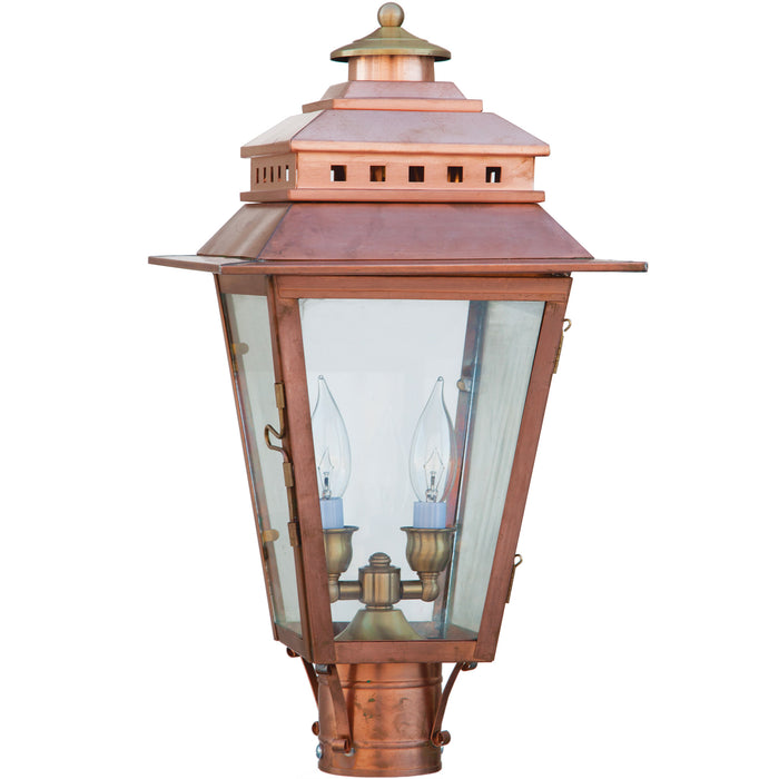 New Orleans Copper Finish Lantern