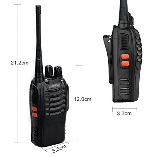 Baofeng Walkie Talkie BF-888S (pack of 20)