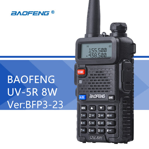 BaoFeng UV-5R 8W- High Power- Two Way Radio Walkie Talkie (1 PACK)