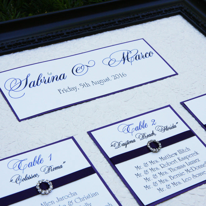 Seating Charts & Signs