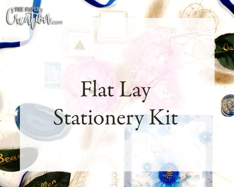 Flatlay Stationery Kit