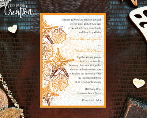 Abstract Sea Creature Printable Digital Invitation