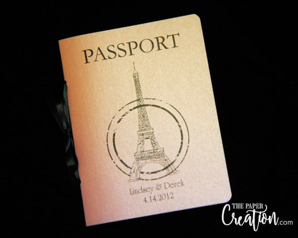 Birthday Passport Invitation