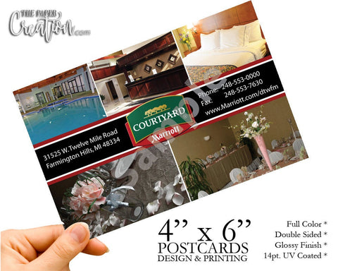 Hotel Promotion Post Cards