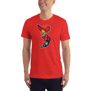 Red Airbrush Character - T-Shirt