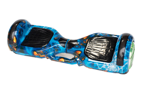 Blue Fire Hoverboard