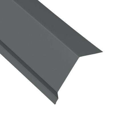 Eave Flashing Molding in Charcoal Drip Edge