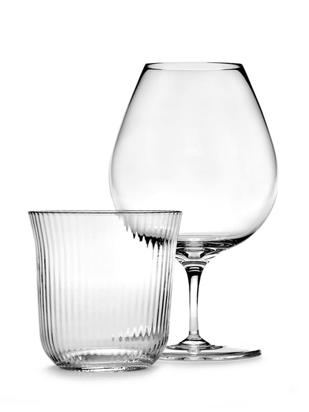 Tumbler Ribbed Glass