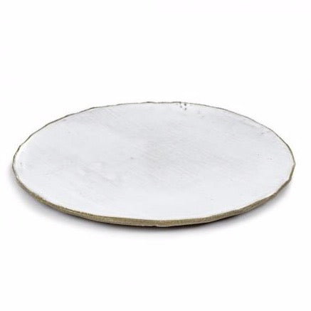 FCK White Plate Large