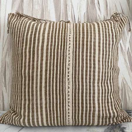 Desert Brown Stripe Thailand With Fringe
