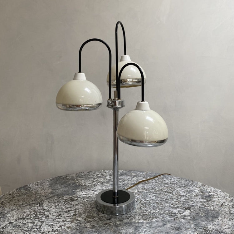 3 Bulb Space-Age Table Lamp