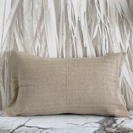 Beige Flax Thai Hemp Stripe