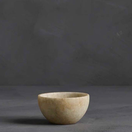 Raw Marble Bowl