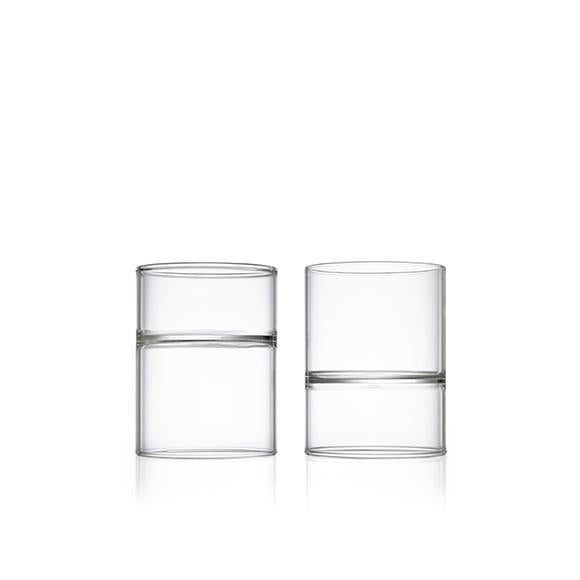 Revolution Rocks and Martini Glass-Set of 2