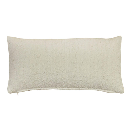 Ivory Wool Pillow