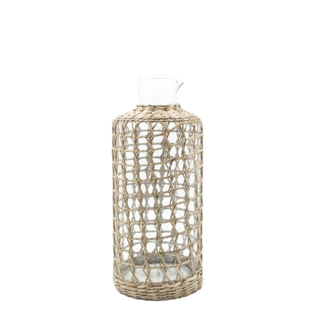Seagrass Cage Carafe