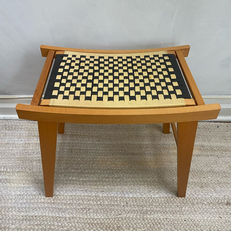 MCM Woven Stool